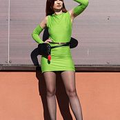 Jeny Smith The Green Dress I Made 001