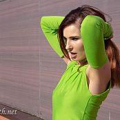Jeny Smith The Green Dress I Made 008