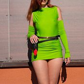 Jeny Smith The Green Dress I Made 034