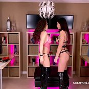 Katie Banks and Aleah Jasmine My Pets Girl BTS Video 140720 mp4