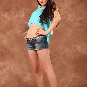 Silver Moon Bethany Denim Shorts Set 001 008