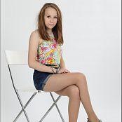 TeenModelingTV Madison Highwaist Shorts 003