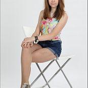 TeenModelingTV Madison Highwaist Shorts 008