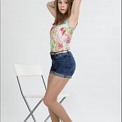 TeenModelingTV Madison Highwaist Shorts 073