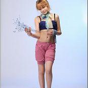 TeenModelingTV Madison Pink Shorts 002
