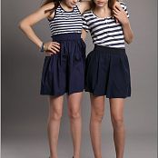 TeenModelingTV Madison Striped Tops Picture Set