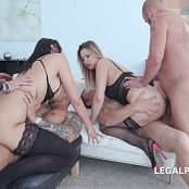 GIO663 Double Addicted with Jolee Love Nikky Dream Balls Deep Anal DAP ATOGM Gapes Swallow 4k Video 210620 mp4