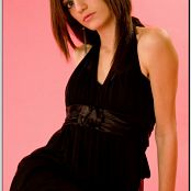 TeenModelingTV Chloe Litte Black Dress 113