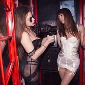 Ariel Rebel & Scarlett Revell Phonebooth With Scarlett Picture Set