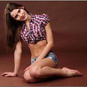 TeenModelingTV Kristine Black Heels Picture Set