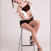 TeenModelingTV Kristine Black Sparkle 050