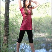 TeenModelingTV Kristine Black Tights 002