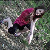 TeenModelingTV Kristine Black Tights 012