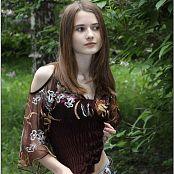 TeenModelingTV Kristine Brown Top 071