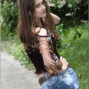 TeenModelingTV Kristine Brown Top 074