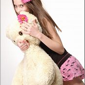 TeenModelingTV Kristine Flamingos 059