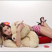 TeenModelingTV Kristine Flamingos 098