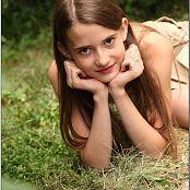 TeenModelingTV Kristine Khaki Mini 062