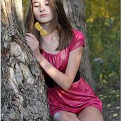 TeenModelingTV Kristine Pink Dress 012