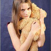 TeenModelingTV Kristine Pink Metallic 056