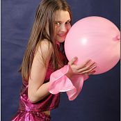 TeenModelingTV Kristine Pink Metallic Picture Set
