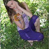 TeenModelingTV Kristine Purple Capri 073