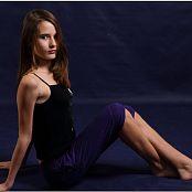 TeenModelingTV Kristine Purple Pants 008