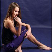 TeenModelingTV Kristine Purple Pants 011