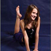 TeenModelingTV Kristine Purple Pants 098