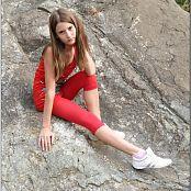 TeenModelingTV Kristine Redtank Top 105