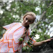 TeenModelingTV Alice Flower Dress 091