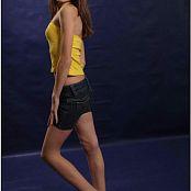 TeenModelingTV Kristine Yellow Top 011