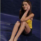 TeenModelingTV Kristine Yellow Top 098