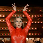 Britney Spears Oops I Did It Again Red Latex Catsuit Uncut Angle 1 AI Enhanced HD Video