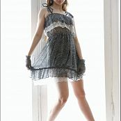 TeenModelingTV Alice Grey and Lace Dress 086