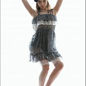TeenModelingTV Alice Grey and Lace Dress 101