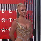 Britney Spears Red Carpet MTV VMA 2015 HD 1080P Video 120920 mp4