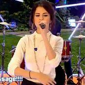 Selena Gomez 2010 09 27 Selena Gomez Round Round Blue Peter LQ Video 250320 ts