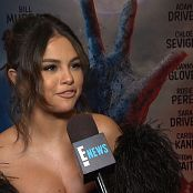 Selena Gomez Interview Red Carpet Awards Show 2019 HD Video