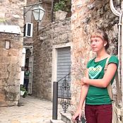 PilGrimGirl Montenegro Shooting in The Old City Video 071020 mp4