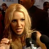 Britney Spears Red Carpet Interview MTV VMA 2000 Video