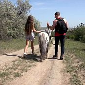 PilGrimGirl Walk With Pony Video 002 301020 mp4