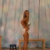 Christina Model CMV063 Silver Two Piece Bathing Suit AI Enhanced TCRips Video 311020 mkv