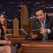 Selena Gomez Interview Jimmy Fallon 2015 HD Video
