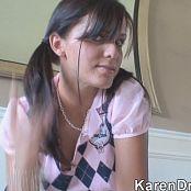 Karendreams SchoolGirl Zipset Video 071120 wmv