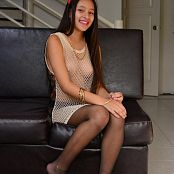Silver Dreams Janie Black Stockings Set 001 008