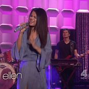 Selena Gomez Come Get It Live Ellen DeGeneres 2013 HD Video