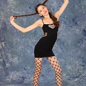 Silver Starlets Nastya Black Dress Set 002 008