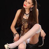 Silver Starlets Nastya White Shorts Set 001 064