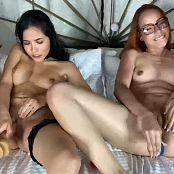 Mellany Mazo and Susana Medina Onlyfans Double Dildo Video 211120 mp4